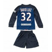 Fussball trikotsatz kinder Paris Saint Germain PSG 2016-17 David Luiz 32 heimtrikot langarm..