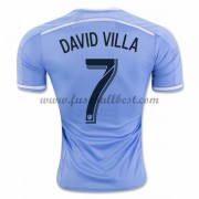 New York City fußball trikots 2016-17 David Villa 7 heimtrikot..