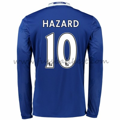 Chelsea fußball trikots 2016-17 Hazard 10 heimtrikot langarm