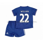 Fussball trikotsatz kinder Chelsea 2016-17 Willian 22 heimtrikot..