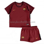 Fussball trikotsatz kinder AS Roma 2017-18 heimtrikot..