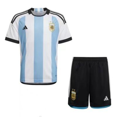 Fussball trikotsatz kinder Argentinien 2018 heimtrikot