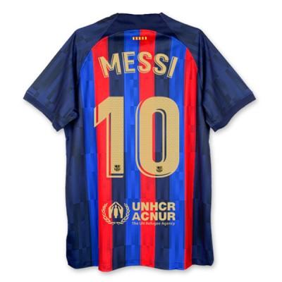 Barcelona Fußball Trikots 2018-19 Lionel Messi 10 Heimtrikot