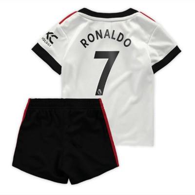 Fussball Trikotsatz Kinder Juventus 2018-19 Cristiano Ronaldo 7 Auswärtstrikot