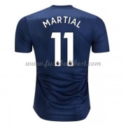 Manchester United Fußball Trikots 2018-19 Anthony Martial 11 3rd Trikot..
