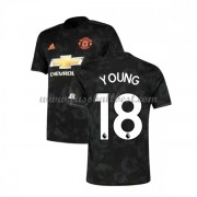 Manchester United Fußball Trikots 2019-20 Ashley Young 18 3rd Trikot..