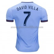 New York City fußball trikots 2017-18 David Villa 7 heimtrikot..