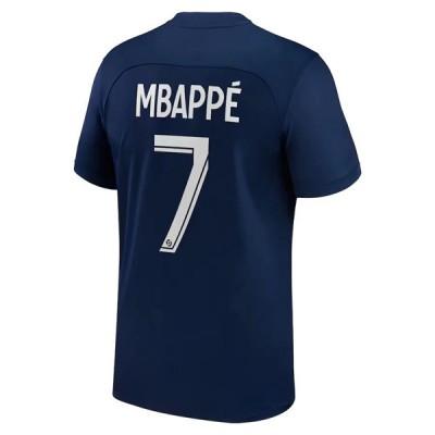 Paris Saint Germain PSG Fußball Trikots 2018-19 Kylian Mbappé 7 Heimtrikot