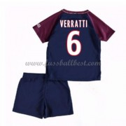 Fussball trikotsatz kinder Paris Saint Germain PSG 2017-18 Verratti 24 heimtrikot..