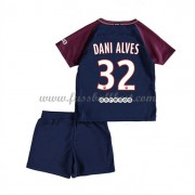 Fussball trikotsatz kinder Paris Saint Germain Psg 2017-18 Dani Alves 23 heimtrikot..