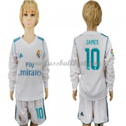 Fussball trikotsatz kinder Real Madrid 2017-18 James Rodriguez 10 heimtrikot langarm..