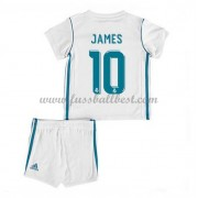 Fussball trikotsatz kinder Real Madrid 2017-18 James Rodriguez 10 heimtrikot..