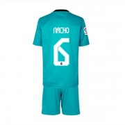 Fussball trikotsatz kinder Real Madrid 2017-18 James Rodriguez 10 3rd trikot..