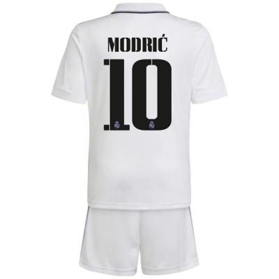 Fussball Trikotsatz Kinder Real Madrid 2018-19 Luka Modric 19 Heimtrikot
