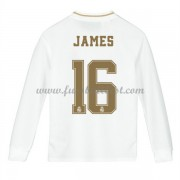 Fussball Trikotsatz Kinder Real Madrid 2019-20 James Rodriguez 16 Heimtrikot Langarm