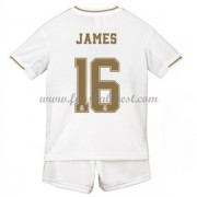 Fussball Trikotsatz Kinder Real Madrid 2019-20 James Rodriguez 16 Heimtrikot
