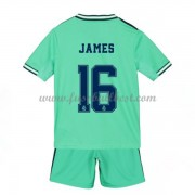 Fussball Trikotsatz Kinder Real Madrid 2019-20 James Rodriguez 16 3rd Trikot