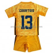 Fussball Trikotsatz Kinder Real Madrid 2019-20 Thibaut Courtois 13 Torwart Heimtrikot..