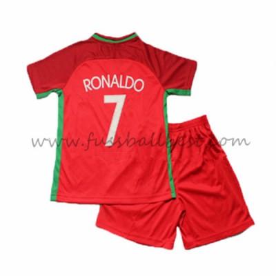 Fussball Trikotsatz Kinder Portugal Em 2016 Cristiano Ronaldo 7