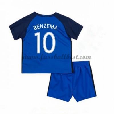 Fussball trikotsatz kinder Frankreich EM 2016 Karim Benzema 10 heimtrikot